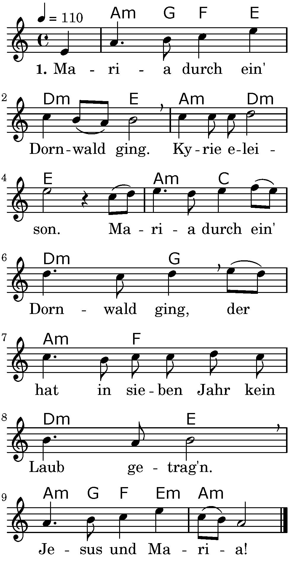 Weihnachts-Lieder